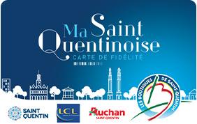 Carte de fidélité Ma Saint Quentinoise
