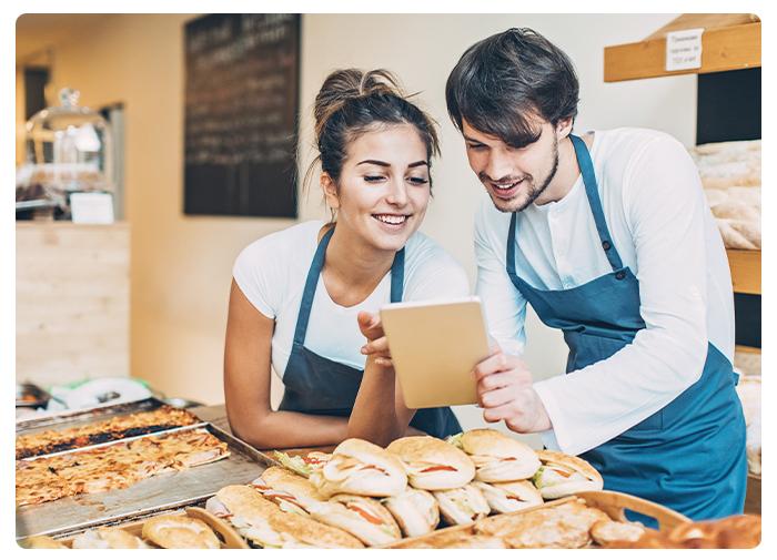 Commerçant proposant la carte de fidélité multi-commerces
